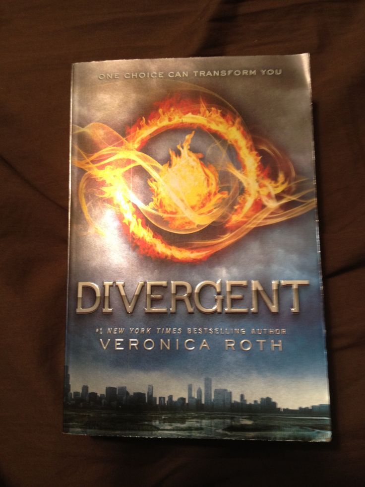 Divergent - The first in the Divergent trilogy. Can't wait for the movie later this month.