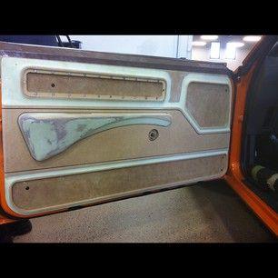 Becausess 69 Camaro Door Panels Custom Dash Console
