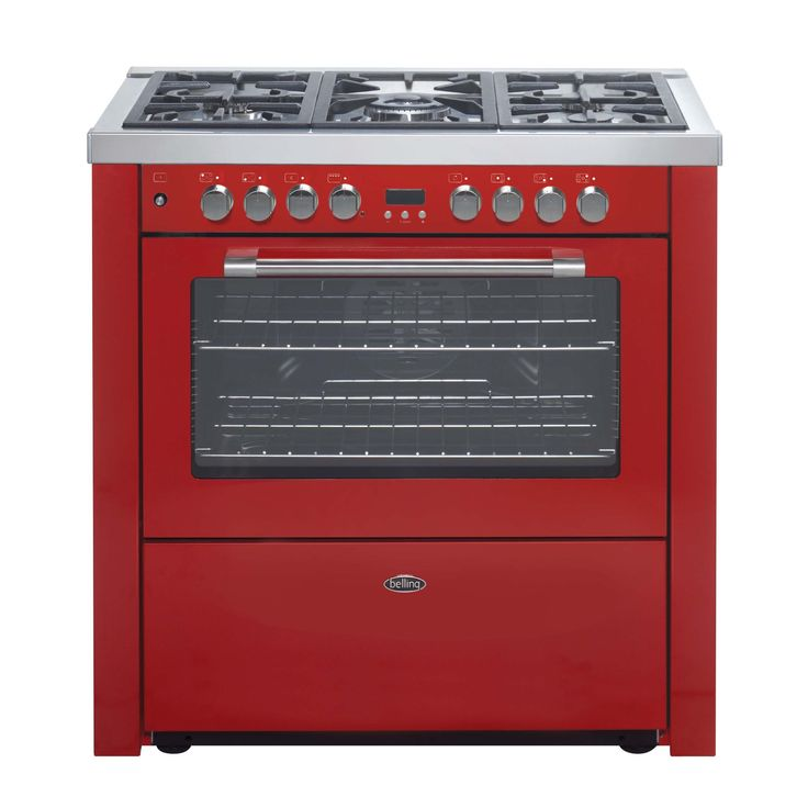Belling Gourmet 90 Dual Fuel Range Cooker - Red Bel Gourmet 90DF 900 Wide Dual Fuel Range cooker, 5 burner with Wok, FFD single multifunction oven with Var Grill in Red 444449875 (Barcode EAN=5034700498756) http://www.MightGet.com/february-2017-2/belling-gourmet-90-dual-fuel-range-cooker--red.asp