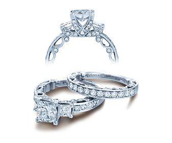 Verrago-Paradiso 3064 Princess cut ring