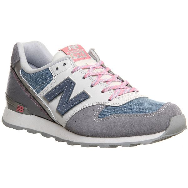 New Balance Wr996 Trainers (€54) ❤ liked on Polyvore featuring shoes, sneakers…