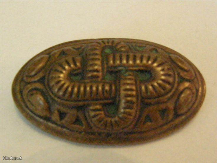 Vintage Kalevala Koru, Osma broosch. Replica or reproduction?
