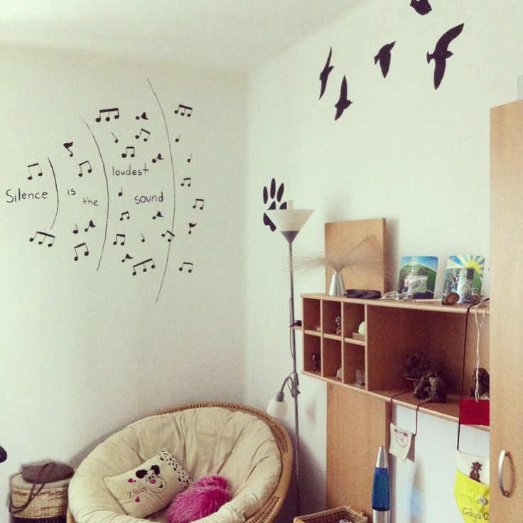 Done with my room.