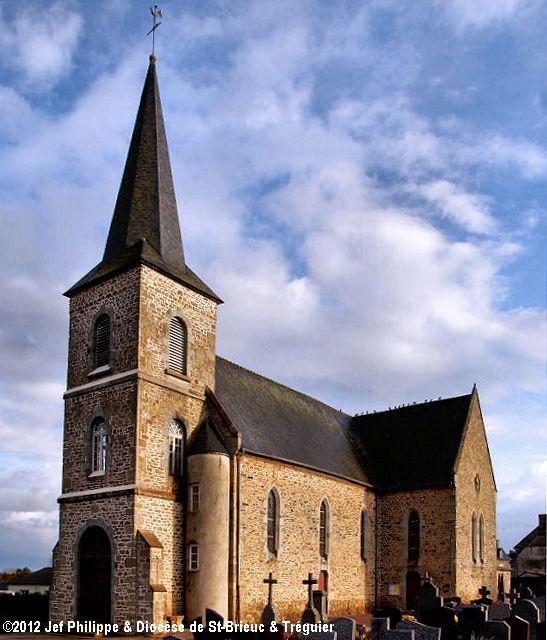 Église St-Guilhen, à Landéhen.