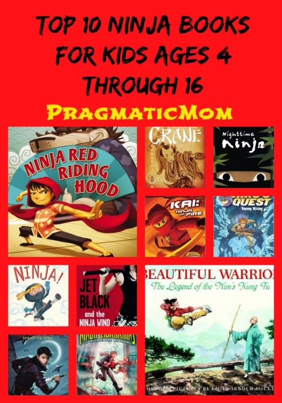 Top 10 Ninja Books for Kids :: PragmaticMom