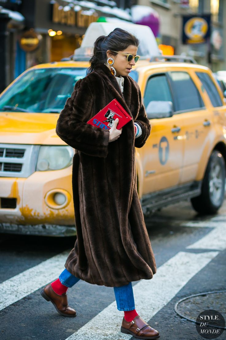 New York Fashion Week Fall 2017 Street Style: Leandra Medine