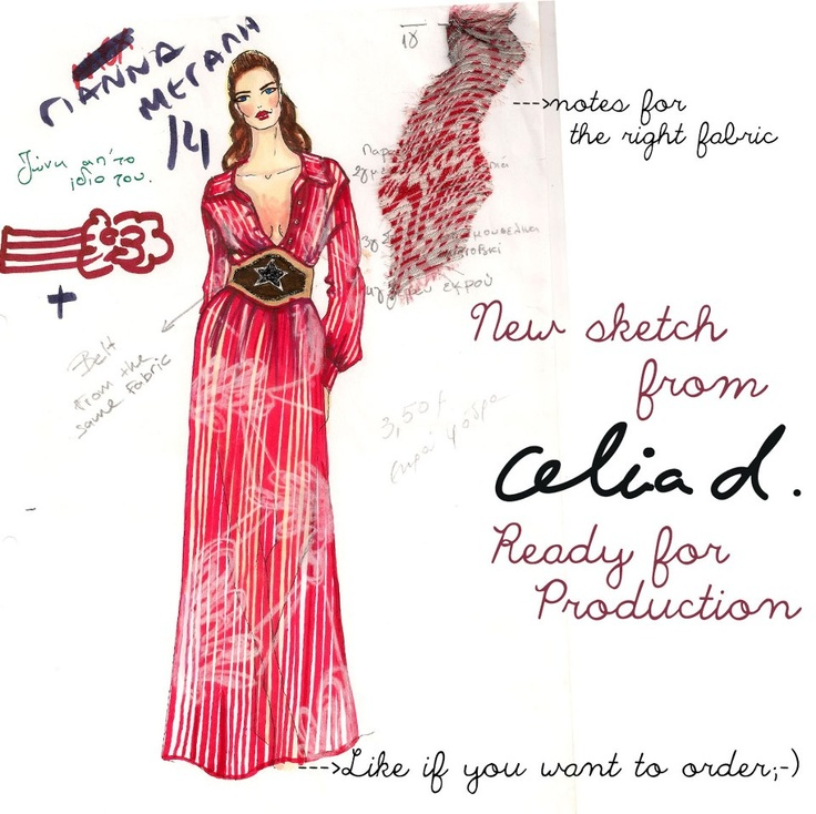 New sketch from Celia Dragouni!