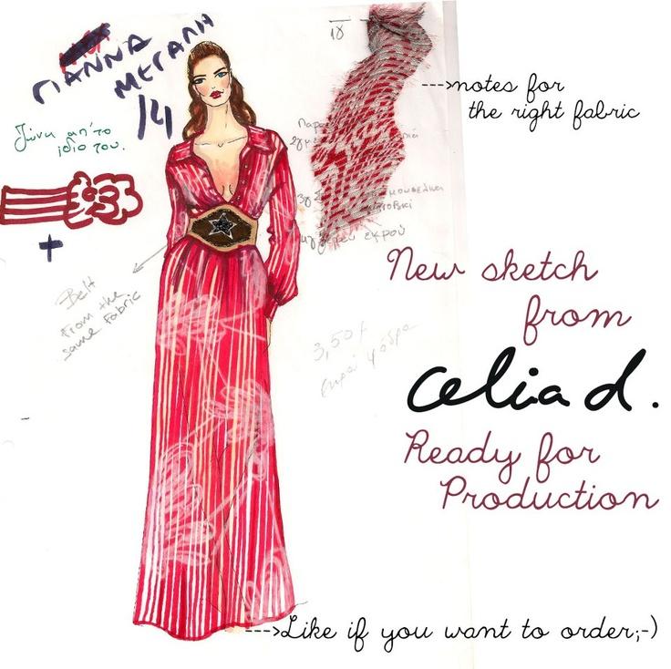 New sketch from Celia Dragouni!