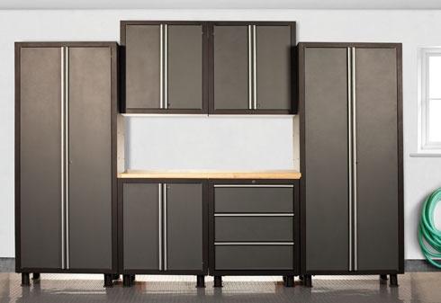Unique 18 Gauge Steel Garage Cabinets