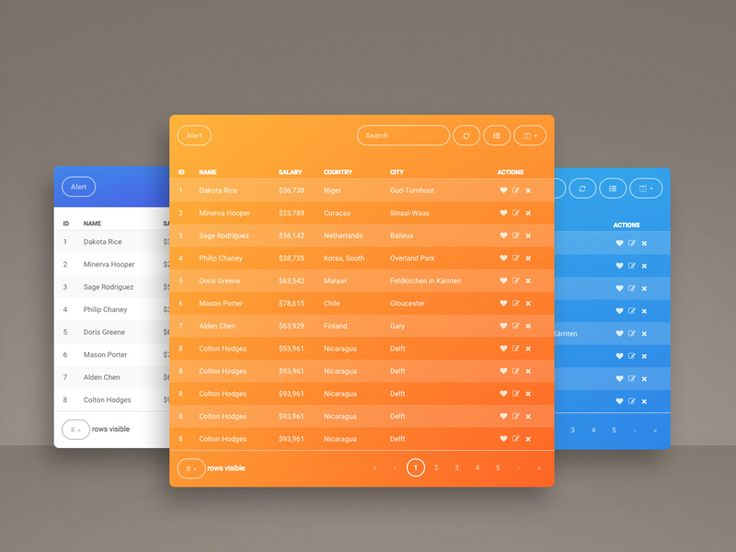 FREE Fresh Bootstrap Table Snipper: an essential and beautiful plugin