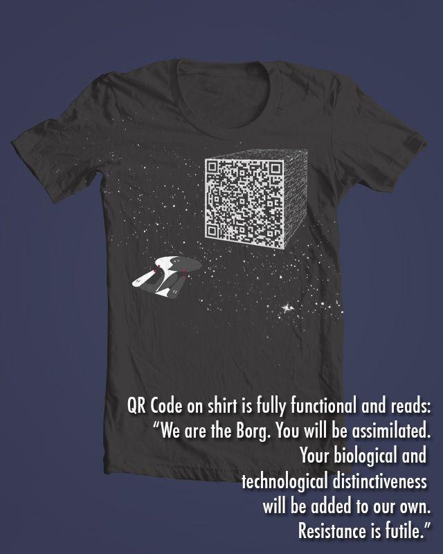 Resistance is futile! shirt