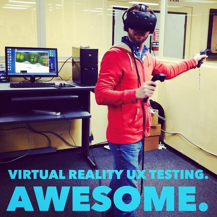 An awesome Virtual Reality pic! #virtualreality #vr #gaming #playtesting #ggj #vive #virtualrealitytour #valve #ux #technology #gamer #playstationvr #amazing #globalgamejam #globalgamejam2016 #steam #infsec #gamedev #organic #unity3d #programming #madewithunity #ggj2016 #videogames #unity #videogame #sandiego  #oculusrift #oculus @TagOmatic by haxxors check us out: http://bit.ly/1KyLetq