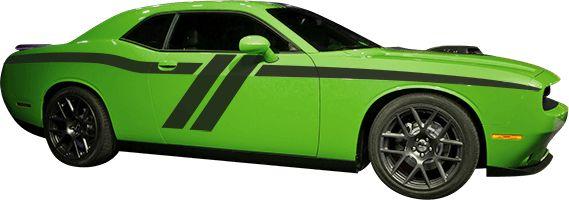 Dodge Challenger 2015 Trans-Am Side Stripes