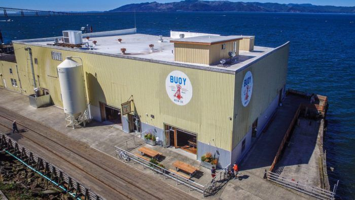 Buoy Beer Company is a one-of-a-kind microbrewery housed in a renovated cannery right on the water.