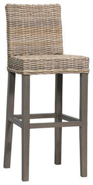 Woven Seagrass Barstool tropical-bar-stools-and-counter-stools