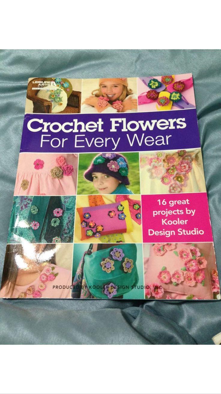 Crochet Flowers for Every Wear - 16 Projects by Kooler Design Studio by OddlyandVintage on Etsy