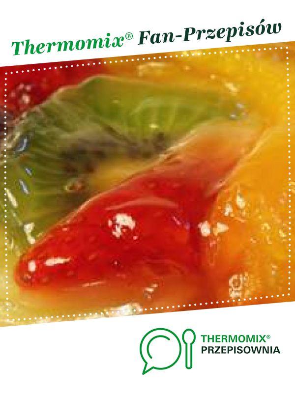 Glazura, nabłyszczacz do ciast i tart z owocami jest to przepis stworzony przez użytkownika ThermoKRK. Ten przepis na Thermomix<sup>®</sup> znajdziesz w kategorii Słodkie wypieki na www.przepisownia.pl, społeczności Thermomix<sup>®</sup>.