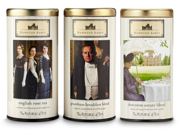 Downton Abbey Teas from Republic of Tea: Awesome holiday gifts!