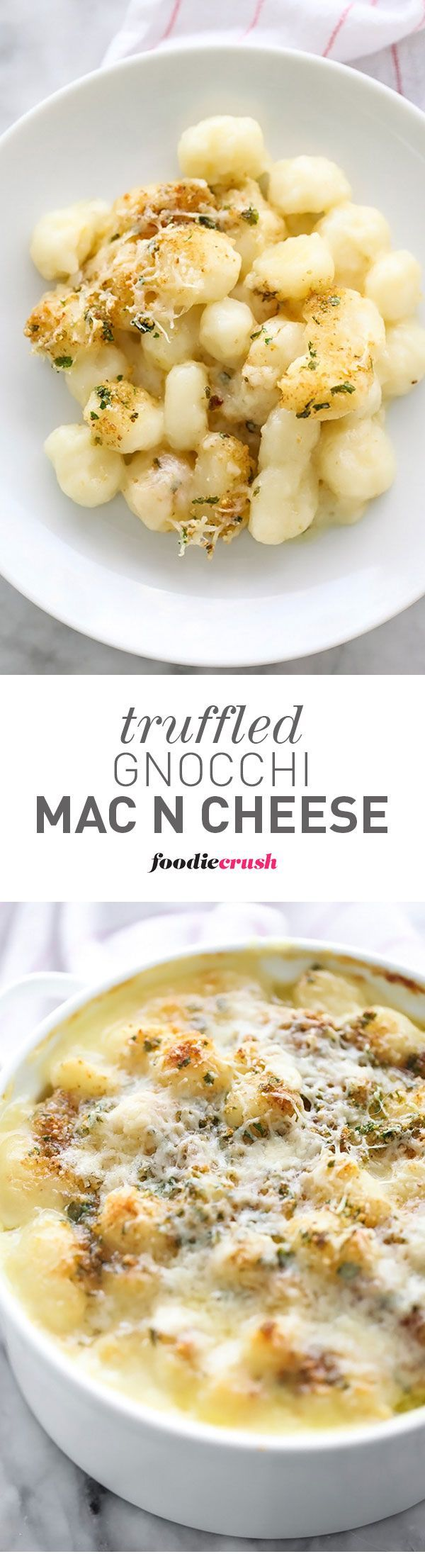 This easy dinner recipe can easily be made ahead and baked later and the crispy crunchy topper is the best part of it | foodiecrush.com