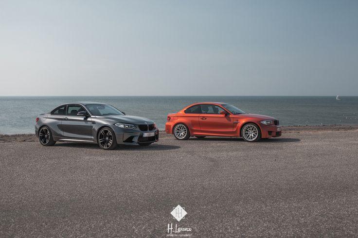 """autoporn-net: """"2016 BMW M2 & 2011 BMW 1'er M Coupé """""""