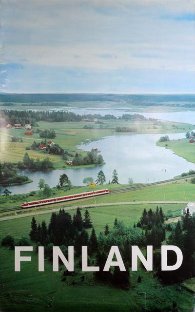 Finland - Travel poster