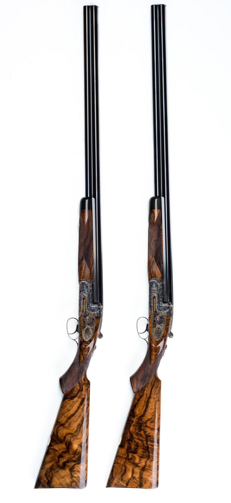 Pair of Westley Richards 20g 'Ovundo' Single Selective Trigger Droplock Shotguns
