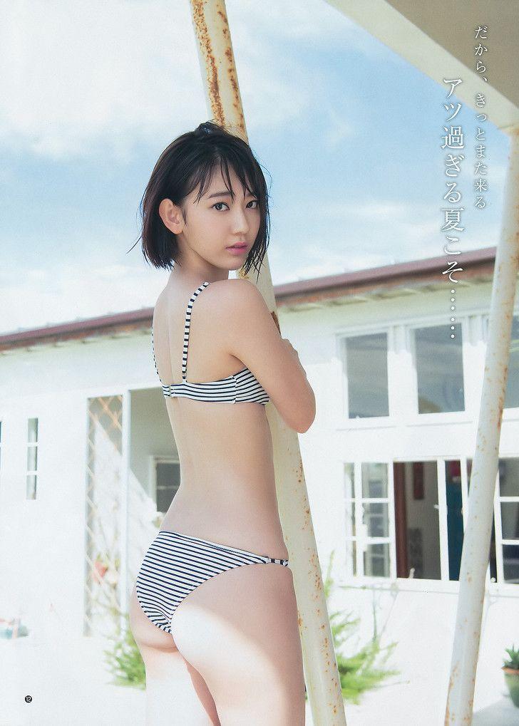 HKT48 Sakura Miyawaki Kokodake Summer on Youg Jump Magazine - JIPX(Japan Idol Paradise X)