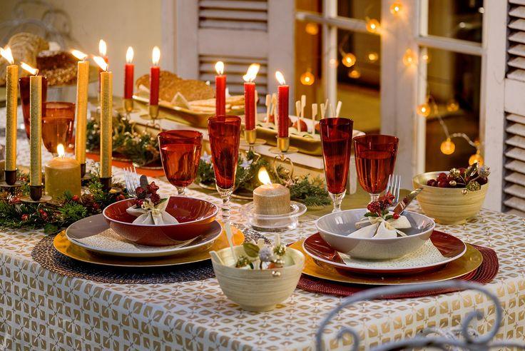 Disfruta de una linda mesa con tus seres queridos esta #Navidad. . Primavera - Verano 2017