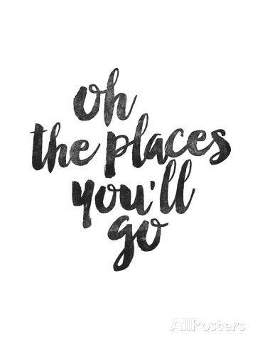 Oh the Places Youll Go Plakat av Brett Wilson hos AllPosters.no