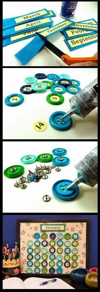 65 diy κατασκευές με κουμπιά! | Φτιάξτο μόνος σου - Κατασκευές DIY - Do it yourself