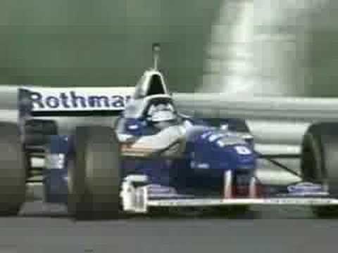 ▶ Damon Hill's last lap in Williams-Renault - YouTube