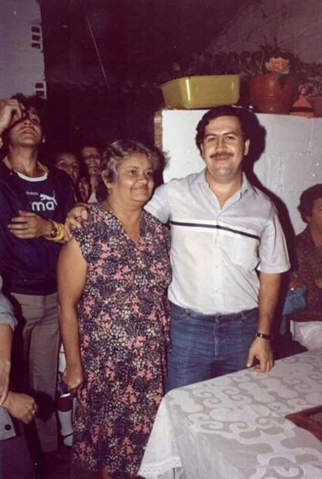 Bogota, Colombia - Hermilda Gaviria de Escobar, the mother of Pablo Escobar has died, Friday October 27, 2006 family member Nicolas Escobar Urquijo said she was 89