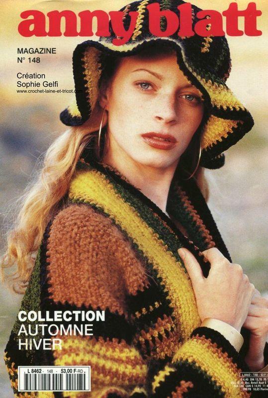 Veste crochet - EXPLICATIONS ajoutées en bas de cet article