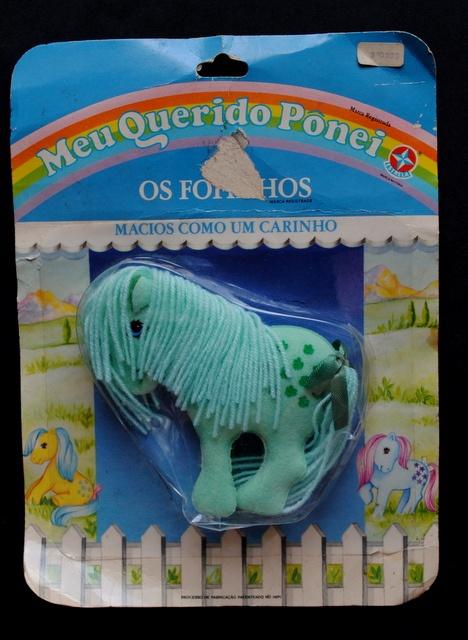 """Meu Querido Ponei - Coleção Fofinhos década 80  """"My Little Pony"""""""