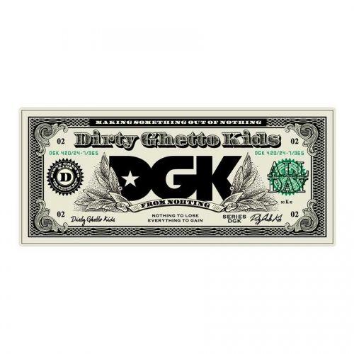 DGK Skateboards DGK Buck Sticker - Small