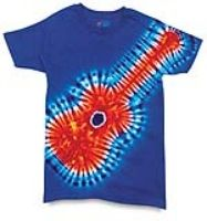 Free Pattern - Tie-Dye Your Own Guitar T-Shirt