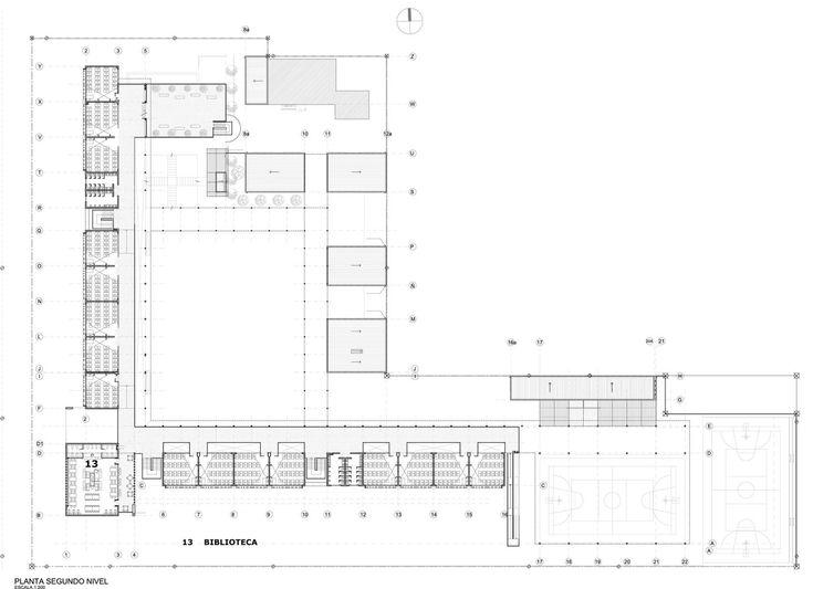 Galeria de Liceu Jorge Alessandri / Crisosto Arquitectos Consultores - 18