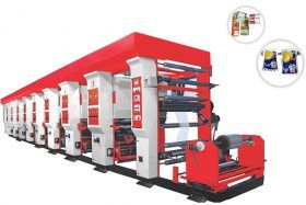 Our Manufacturer Rotogravure machine is suitable for multi color through continue printing. Exporter and manufacturer of rotogravure printing machines, rotogravure machines, flexographic printing machines in Ahmedabad.