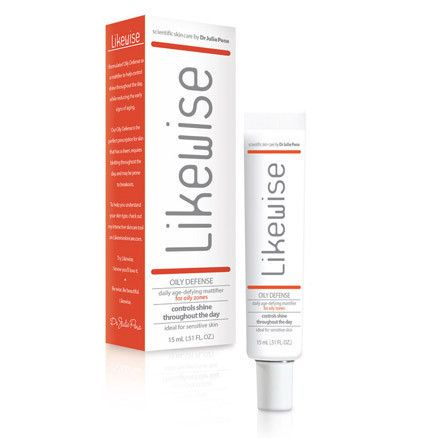 Likewise Oily Defense – perfect as a primer under makeup, packed with natural vitamins and blemish controlling ingredients and formulated to help with oil production, this tube is a great daily mattifier. #skincare #moisturize #oilydefense
