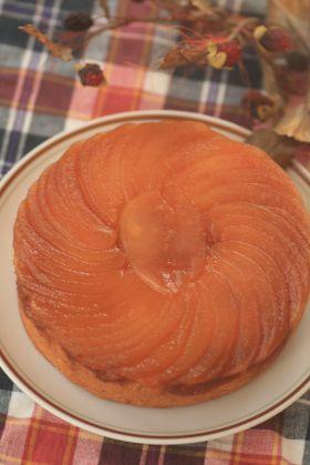 「りんごのアップサイドダウンケーキ」kaiko   お菓子・パンのレシピや作り方【corecle*コレクル】