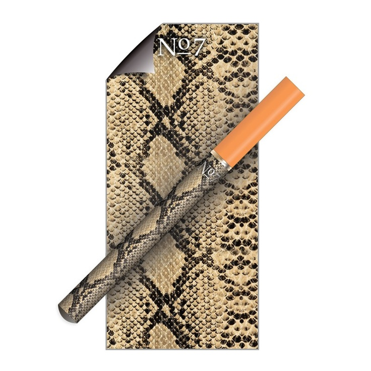 Decoration is the only part of my electric cigarette that is enjoyable.  Snake Skin 2 Micro E-Cig Skin