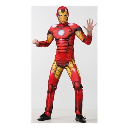 """Батик Карнавальный костюм """"Железный человек"""", Мстители, Батик  — 2599р.  Этот костюм приведет в восторг любого мальчишку! Наряд состоит из маски и удобного комбинезона с рельефными вставками, изображающими мышцы. Дети обожают перевоплощаться, позвольте вашему ребенку почувствовать себя королем вечера и получить настоящее удовольствие от самого волшебного праздника в году! Костюм выполнен из высококачественных экологичных материалов, в производстве ткани использованы только безопасные…"""