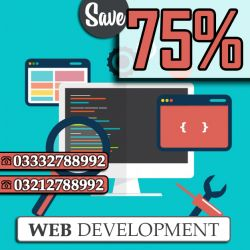 Get 75% #Discount for #QualityWebDevelopmentServices. Genius Creators have experienced #professionals who possess the knowledge to #design a #website which is not only engaging and attractive but also communicates your #business' value to visitors and eventually converting them into customers. Our #websitedevelopers can develop a complete new site or can even revamp your present website. Our Work ➡ https://goo.gl/wID14w Order us ➡ +923332788992, +923212788992