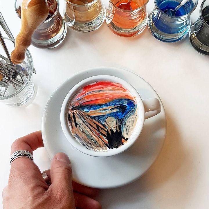 Кофе как произведение искусства