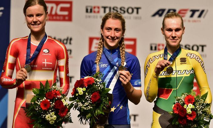 Great Britain Women's Cycling Team Top The Medal Standings at the 2015 European Track Champs........... Laura Trott becomes European Champion for the 10th time and Great Britain top the medal standings.