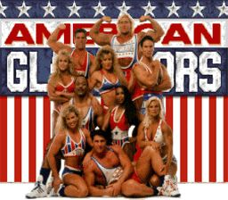 The original, 1980s American Gladiators...big hair included...remember when that came on air too...we watched it...LOL