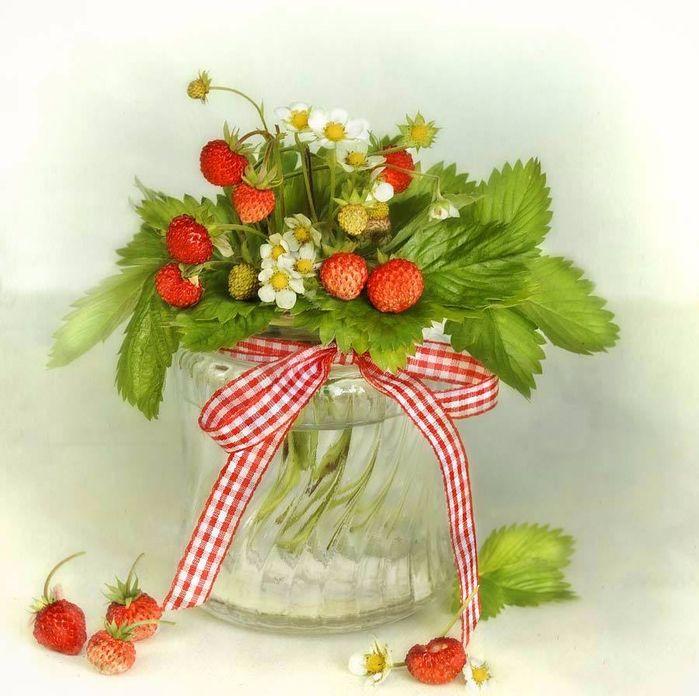 картинки с ягодами декупаж последние годы безродный