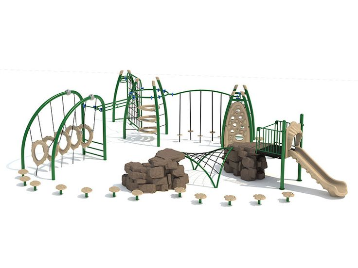 Playground Fitness Units Design/Install Charlotte & Raleigh NC