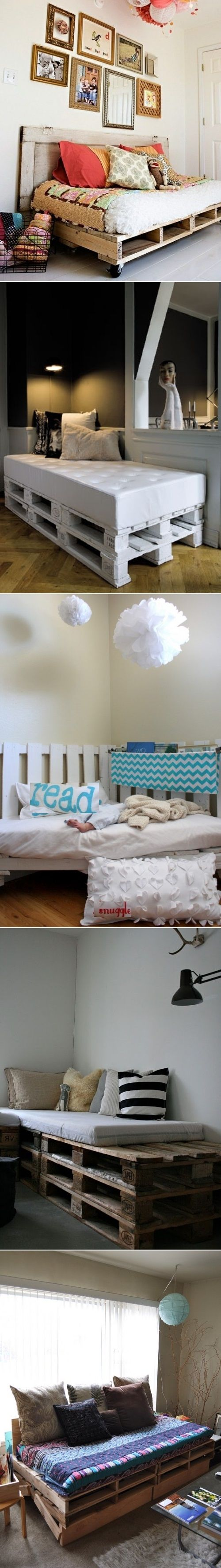 DIY Daybeds Of Pallets
