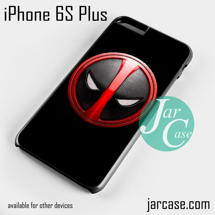 Deadpool Emblem Phone case for iPhone 6S Plus and other iPhone devices